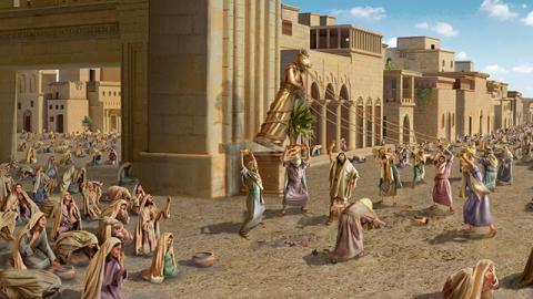 Il netto contrasto fra la reazione di Ninive e quella di Sodoma all'avvertimento di Dio
