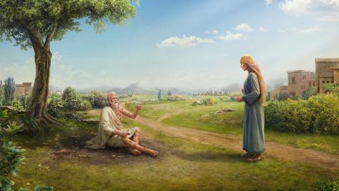 Un'altra manifestazione del timore di Dio e della fuga dal male da parte di Giobbe sta nella sua esaltazione del nome di Dio in tutte le cose