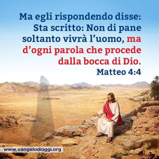 Matteo 4:4