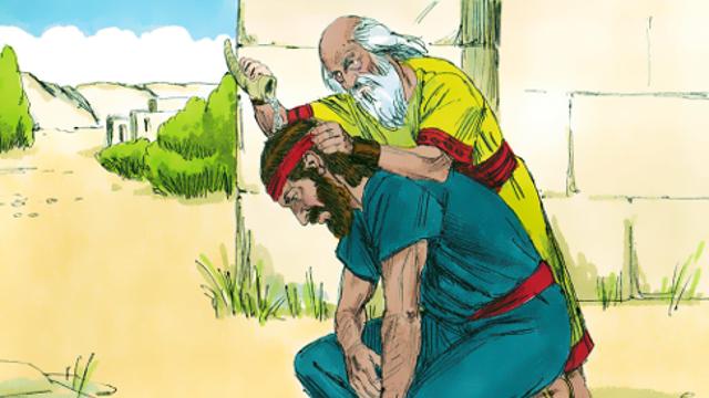 Davide unto re da Samuele