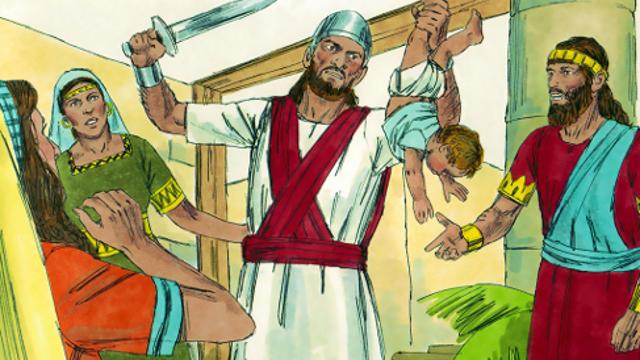 Il giudizio sapiente di Salomone