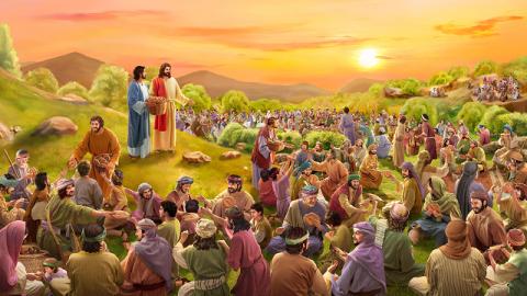 """Dietro """"Cinque pani e due pesci"""", quali erano esattamente i pensieri del Signore Gesù?"""