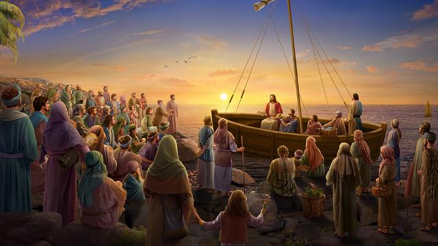 Gesù predica il Vangelo nella Galilea