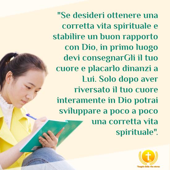 Come ottenere una corretta vita spirituale