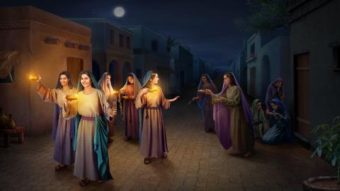 Cosa c'è di saggio riguardo alle vergini sagge che accolgono il Signore?