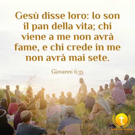 Il Signore è il pan della vita