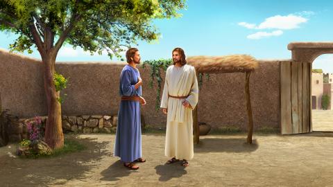 Storie della Bibbia: Gesù e Pietro