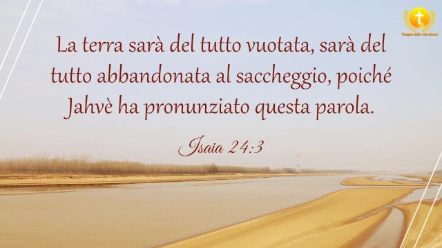 Isaia 24:3