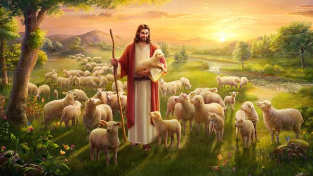 Gesù Cristo ha trovato la pecora smarrita
