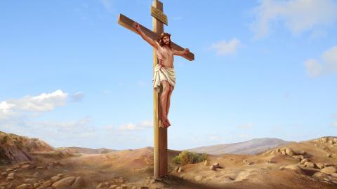 La crocifissione di Gesù