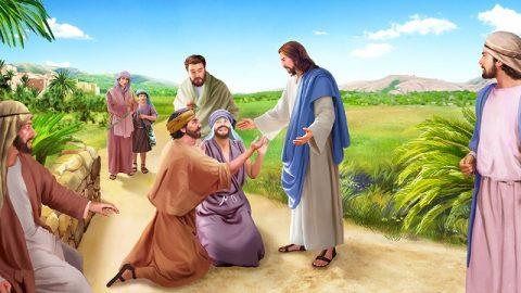Il Signore Gesù guarisce il cieco