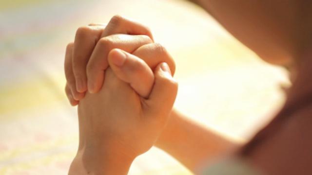 preghiera con cuore