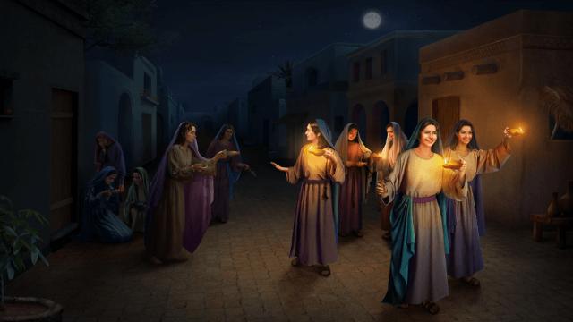 Contemplare il vangelo: Come le vergini sagge accolgono la venuta di Gesù?