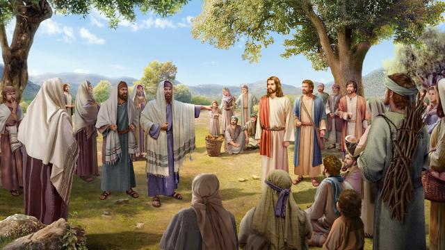 Gli scribi e i Farisei impediscono alla gente di ascoltare Gesù