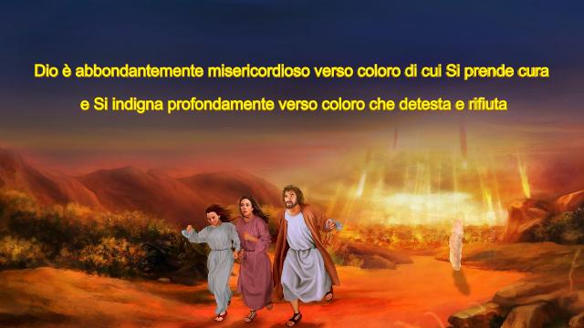 La famiglia di Lot fuge da Sodoma