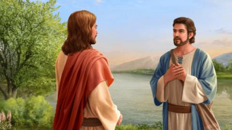 """Perché il Signore Gesù chiede a Pietro per tre volte """"Pietro, mi ami tu""""?"""