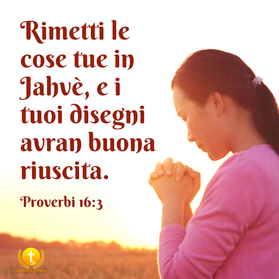 Proverbi 16:3