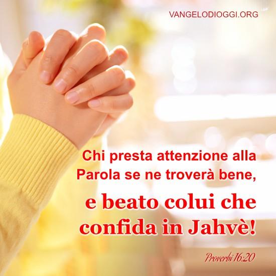 Proverbi 16:20