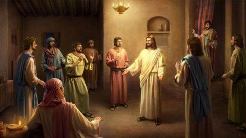 Il Signore Gesù apparve ai discepoli dopo la Sua risurrezione.