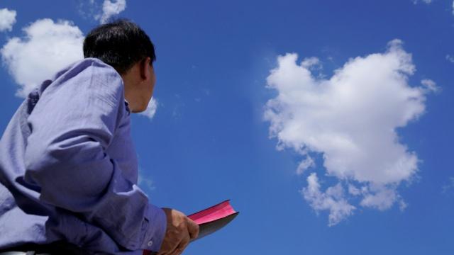 Guardare la nuvola, attendendo il Signore