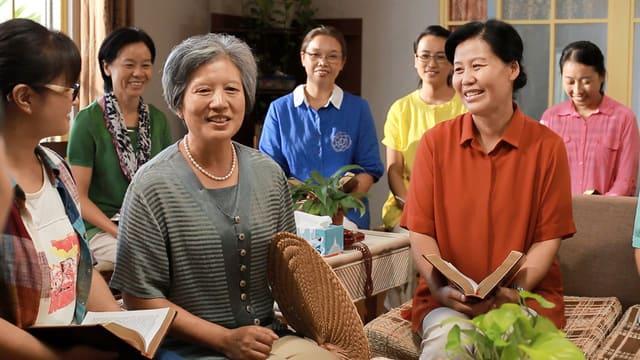 le cristiane partecipano agli incontri
