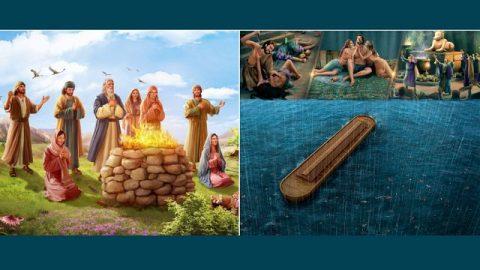 Commento al vangelo di Luca 17: 26-30: Sono arrivati i giorni di Noè. Come cercare l'apparizione di Dio?